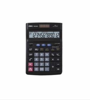 Deli Calculator 12 Digit Check & Multifunction