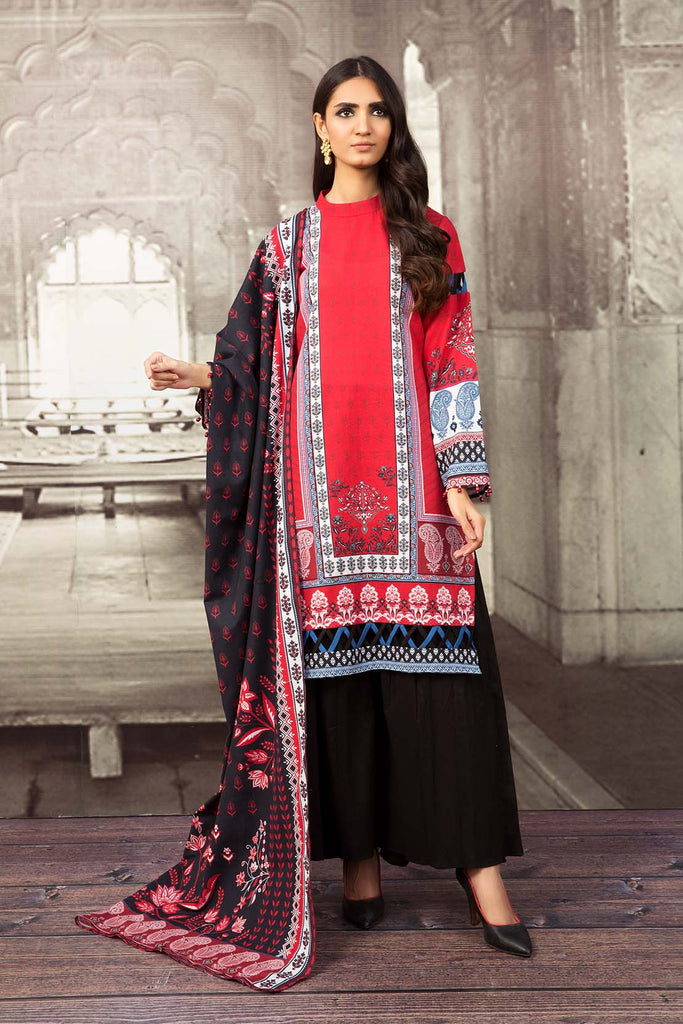 So Kamal Khaddar Winter Collection'20 DPW20 795 Suit