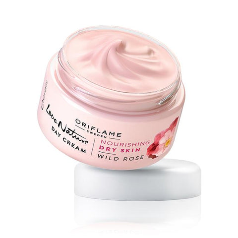 Love Nature Day Cream Wild Rose | ORIFLAME SWEDEN