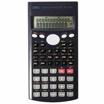 Deli Scientific Calculator 12 Digit 240 Function