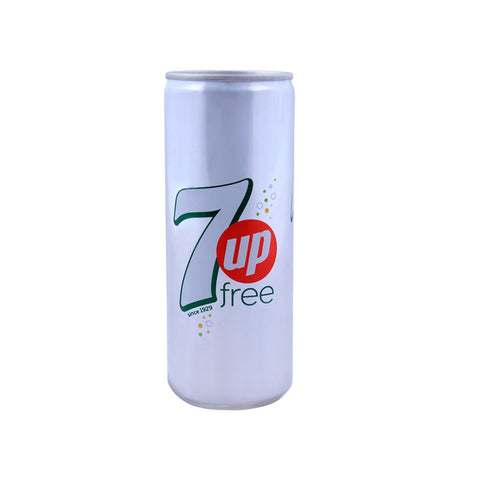 7UP FREE CAN 250 ML