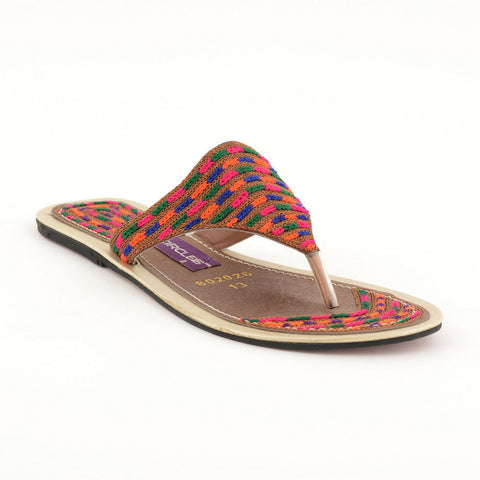ECS Summer-2018 Brown Multy Casual Chappal