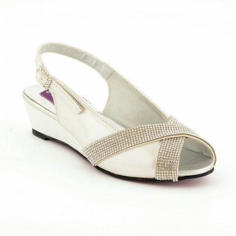 ECS Summer-2018 Silver Sandal For Kids