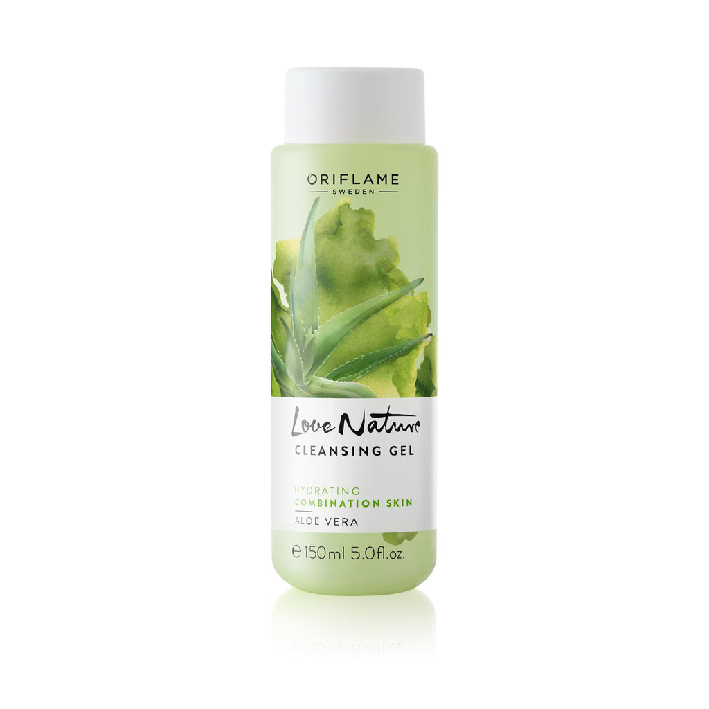 Love Nature Cleansing Gel Aloe Vera | ORIFLAME SWEDEN