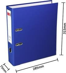 Deli Lever Arch File A4 2 inches