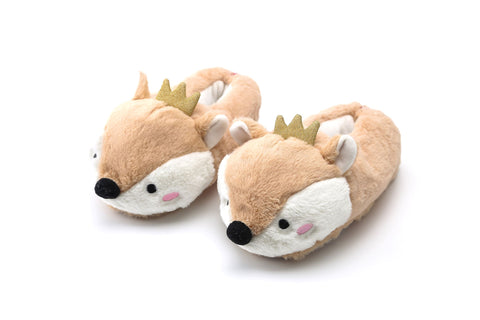 Animal Slippers with Crown | Funky Fish