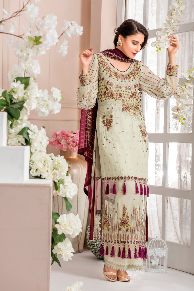 Ayiza Chiffon Collection By Maryam's 2018 - A12-Whats chic Now