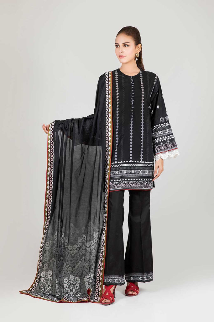 BONANZA SATRANGI  Black & White Collection'20 KROLUS - 3 PC