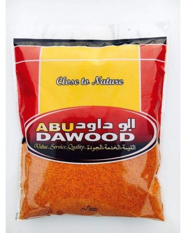 ABU DAWOOD RED CHILLI POWDER 200GM
