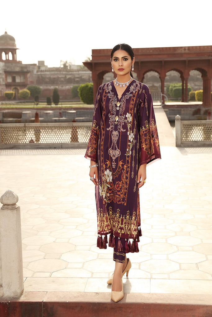 AFSANEH INAYAT EID VOLUME I COLLECTION'21 AMBAR-A