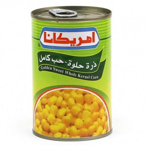 AMERICANA SWEET CORNS 400GM