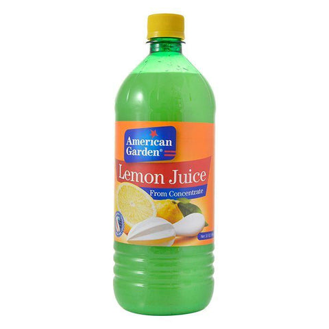 AMERICAN GARDEN LEMON JUICE 32OZ