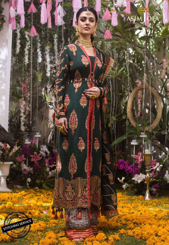 ASIM JOFA NAUBAHAR CHIFFON COLLECTION'20 AJN-07