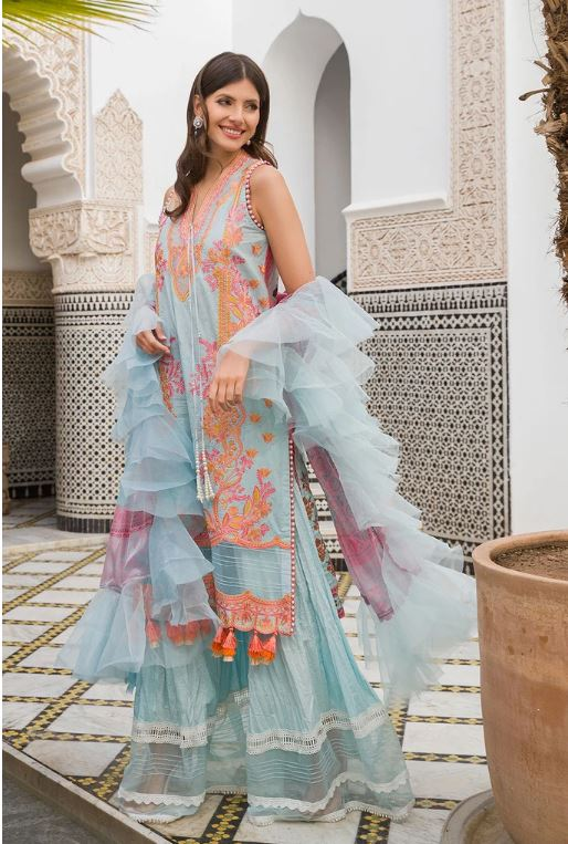 Sobia Nazir Luxury Lawn Collection'20 L20-6B