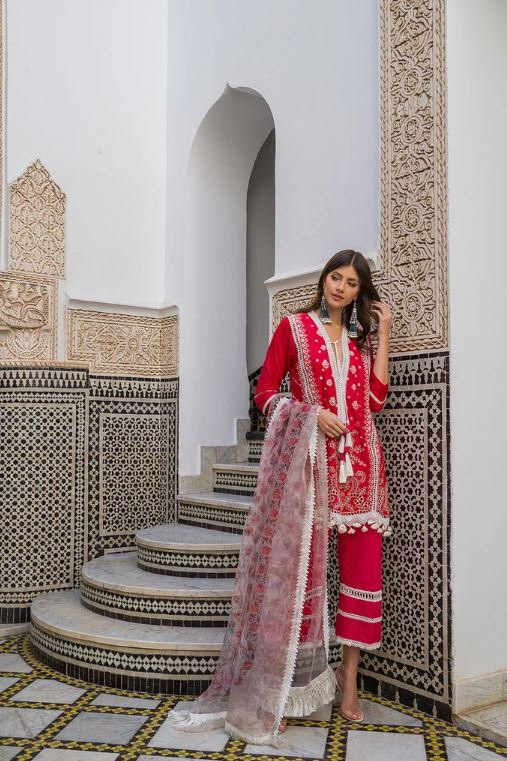 Sobia Nazir Luxury Lawn Collection'20 L20-1B