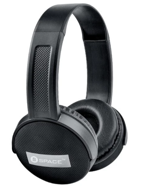 Space Tech ICON IC-565 Prestige Headphones (New), Prestige Headphone-Black