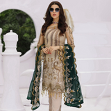Areesha VOL-VIII Embroidered Chiffon Formal Wear Collection'20 Crust Grace SKU: 084