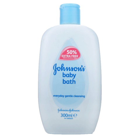 JOHNSONS BABY BATH GENTLE CLEANSING 300 ML