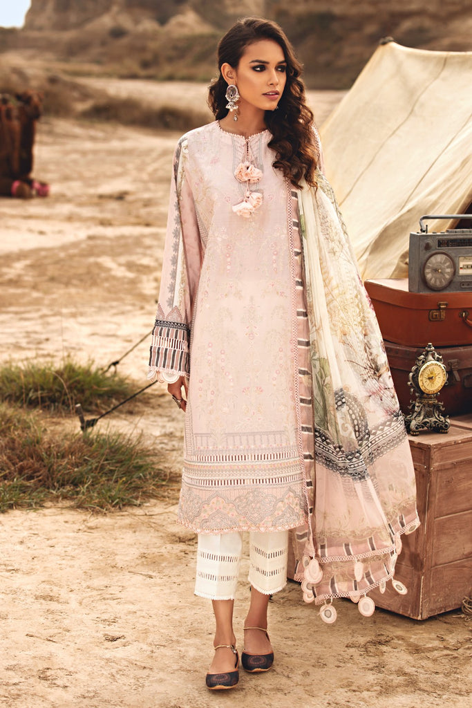 KARWAN BY JAZMIN SUMMER SPRING LUXURY LAWN COLLECTION'21 BAHAAR