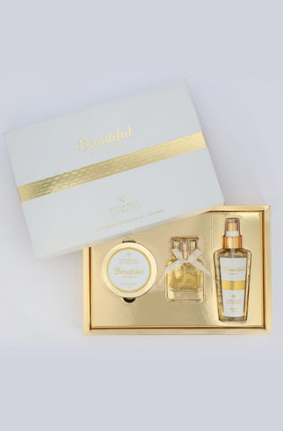 BONANZA SATRANGI BEAUTIFUL GIFT SET SKU : 2100004127050 Design Code : GSBEAU1X3-MULTI