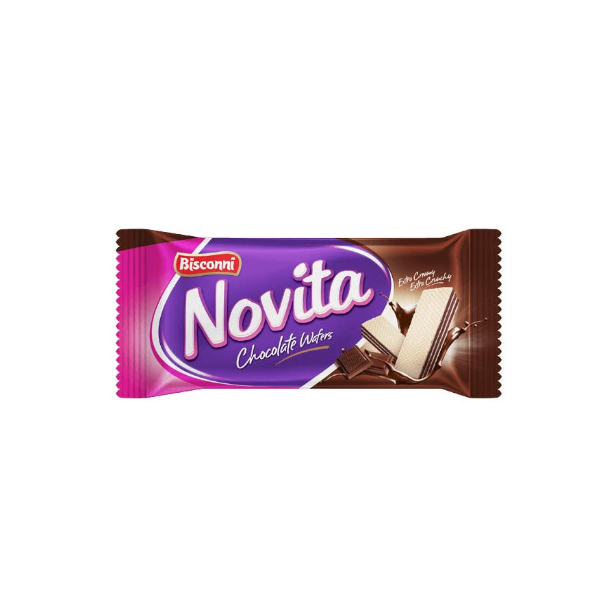 BISCONNI NOVITA CHOCOLATE WAFERS S/P