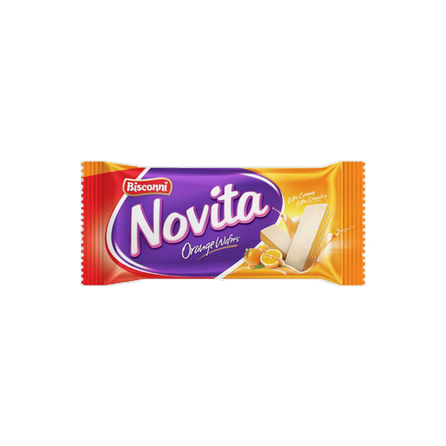 BISCONNI NOVITA ORANGE WAFERS S/P