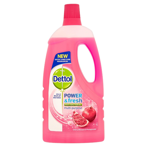 DETTOL CLEANER FRESH CHERRY BLOSSOM POMEGRANATE 1 LTR