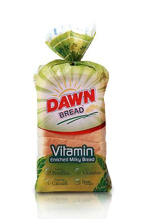 DAWN BREAD MILK 350GM