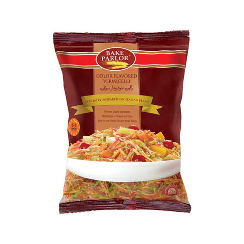 BAKE PARLOR COLOR FLAVORED VERMICELLI 400 GMS