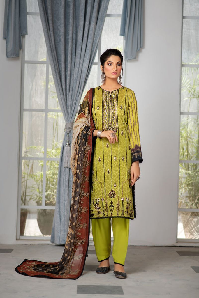 MAHI LAWN BY RANG RASIYA COLLECTION'21