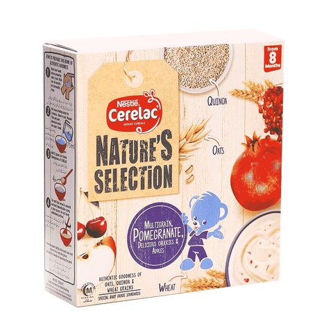 NESTLE CERELAC MULTIGRAIN POMEGRANATE CHERRIES APPLES 175 GM