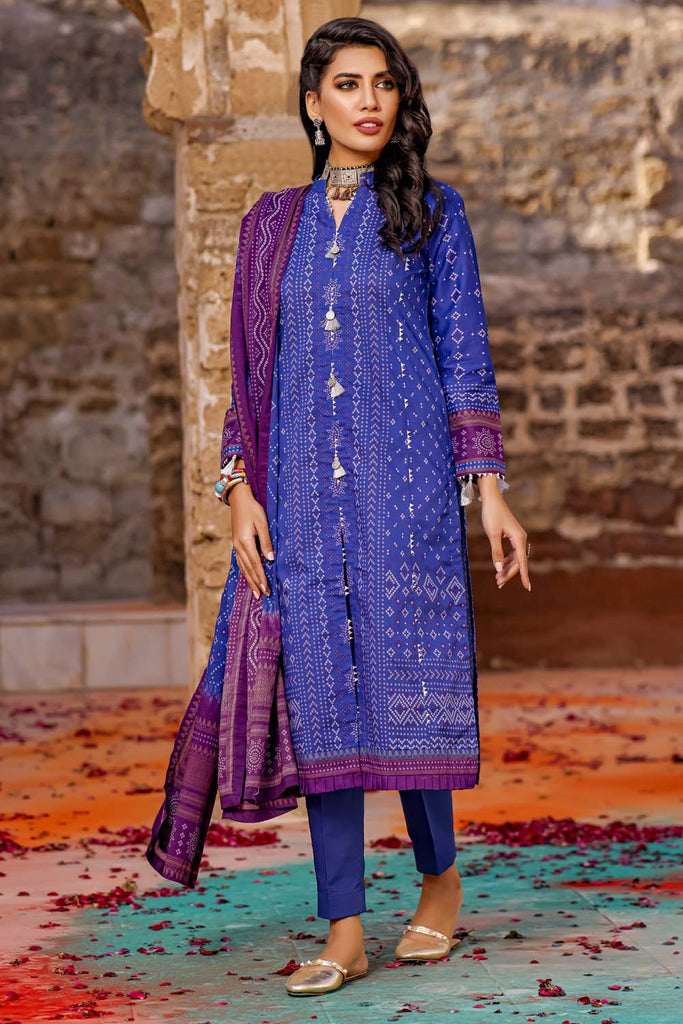 Gul Ahmed Chunri Lawn Collection'21
