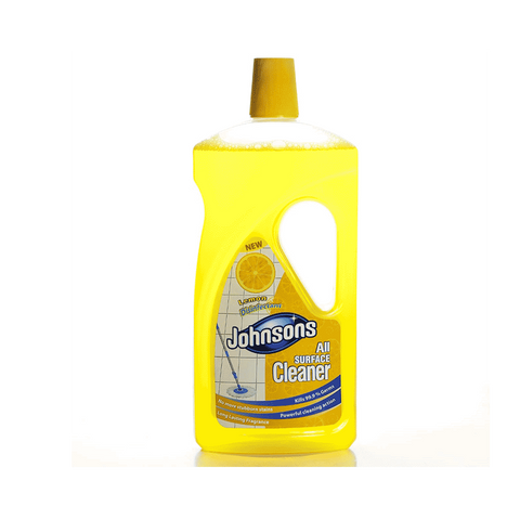 JOHNSONS ALL SURFACE CLEANER LEMON DISINFECTANT 1 LTR