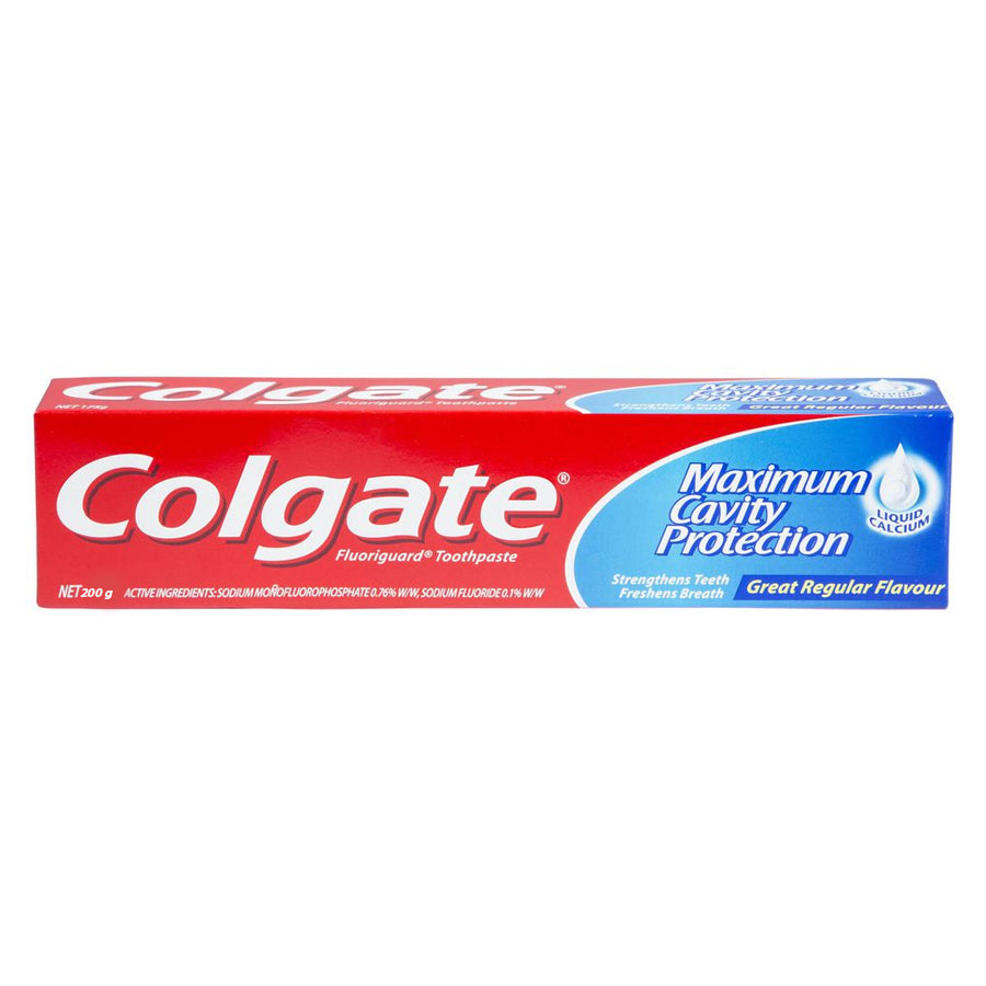 COLGATE MAXIMUM CAVITY PROTECTION TOOTH PASTE 200 GMS