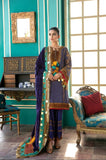 Charizma A Sweet Symphony Masori Suit with Embellished Velvet Shawl Collection'20 Purple Peony CMK-07