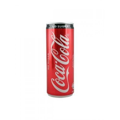 COCA COLA COKE ZERO SUGAR CAN 250 ML