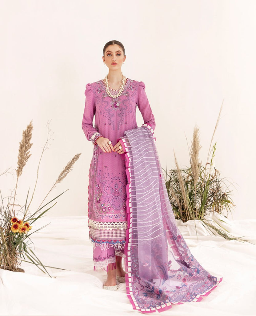 Republic Womens Wear Selene Luxury Lawn Collection'21 D8-B