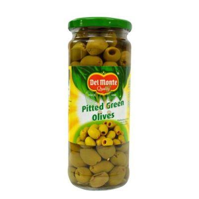 DELMONTE PITTED GREEN 450GM