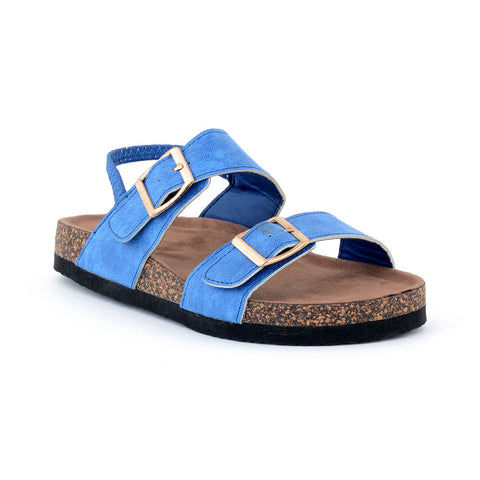 ECS Summer-2018 Blue Slide Sandal For Kids