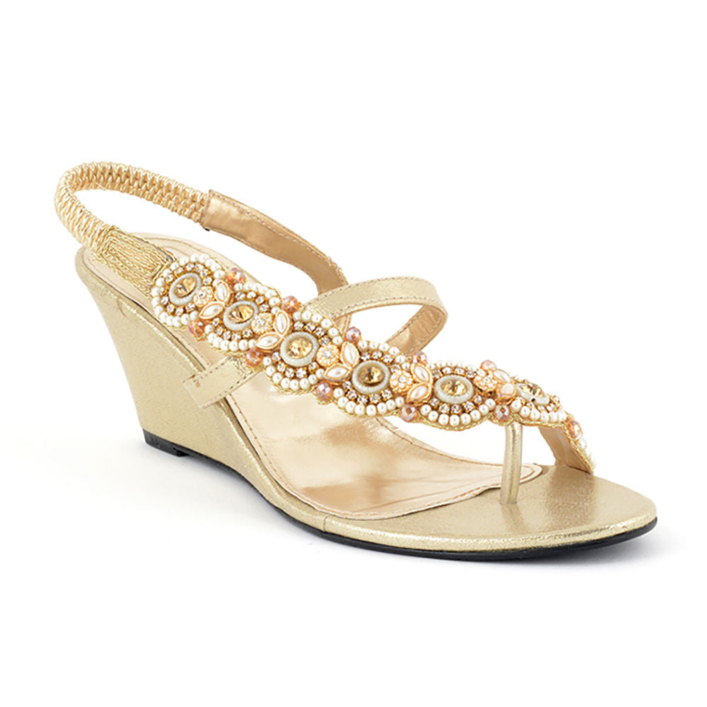 d5631dc6f1828 ECS Summer-2018 Golden Fancy Sandal