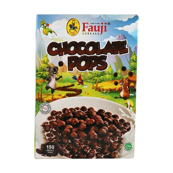 FAUJI CHOC CORN POPS 150GM