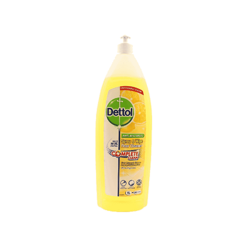 DETTOL SPRAY N WIPE FLOOR CLEANER CITRUS 1 LTR