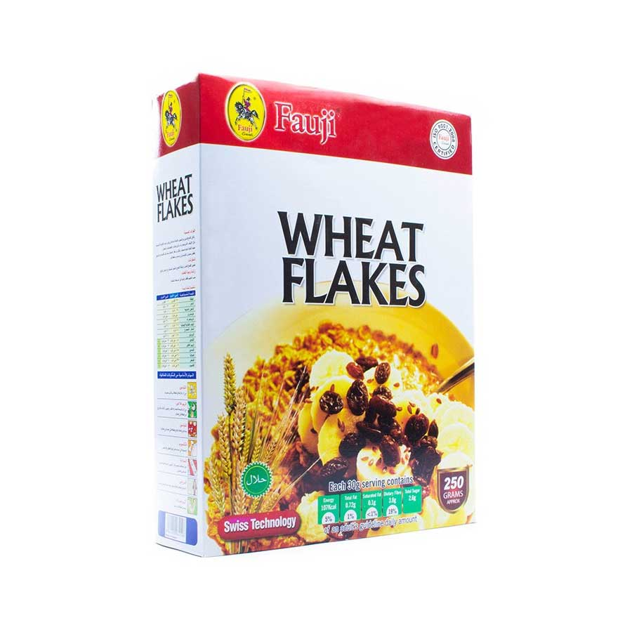 FAUJI WHEAT FLAKES 250 GMS