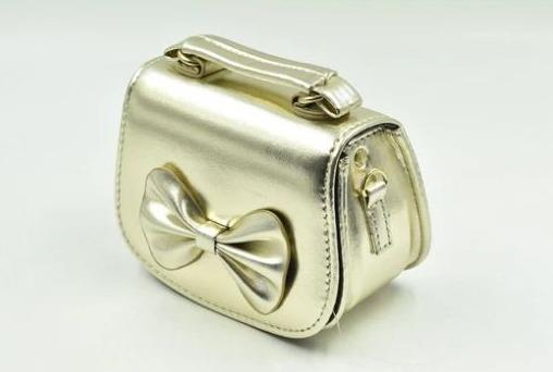 Illusions Golden Bow Tie Bag