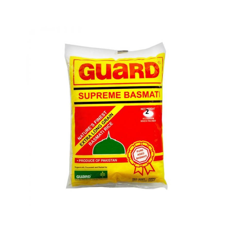 GUARD SUPREME BASMATI RICE 2 KG