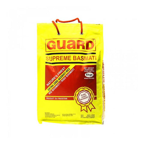GUARD SUPREME BASMATI RICE 5 KG