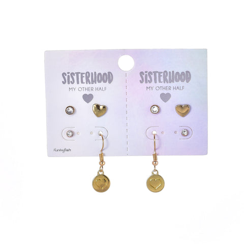 BFF earring set | Funky Fish