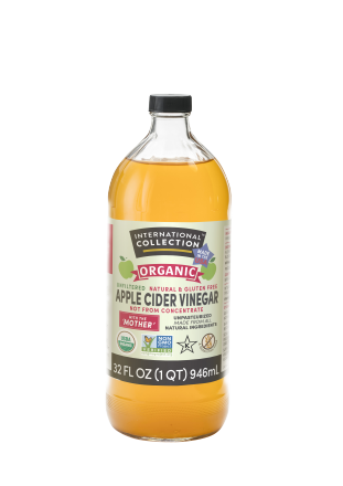ORGANIC APPLE CIDER VINEGAR INTERNATIONAL