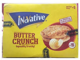 INNOVATIVE BUTTER CRUNCH HALF ROLL 6PCE