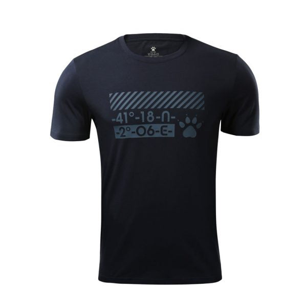 MEN'S T-SHIRT – DARK BLUE ! Apollo Sports